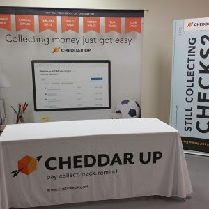 Trade Show Displays Cheddar Up in Englewood, CO
