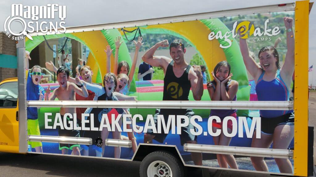 Vehicle Wrap for Eagle Lake Camps Box Truck in Colorado Springs, CO