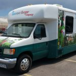 Vehicle Wrap for Gourmet Burger Bus in Denver, CO