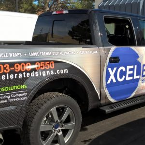 Vehicle Wrap for Xcelerated in Denver, CO