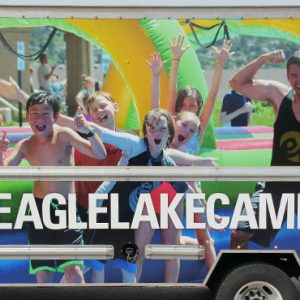 Vehicle Vinyl Box Truck Wrap for Eagle Lake Camps in Colorado Springs, CO