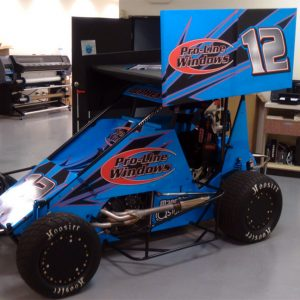 Vehicle Wrap for Proline Racing Car in Denver, CO