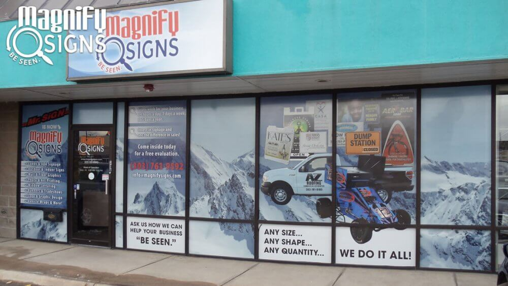 Magnify Signs In Englewood Co Custom Business Signs
