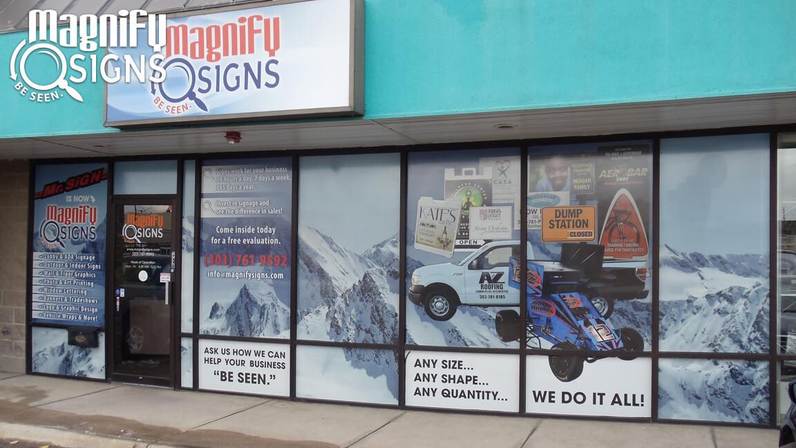 Window Vinyl in Englewood, CO