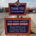 Custom Aluminum Sign for Metro Express Car Wash in Englewood, CO
