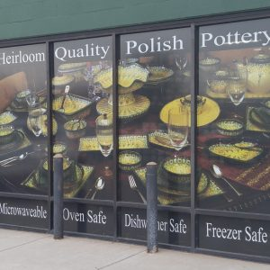 Perforated Window Panels for Polish Pottery in Englewood, CO