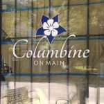 Custom Window Vinyl Graphics for Columbine on Main in Littleton, CO