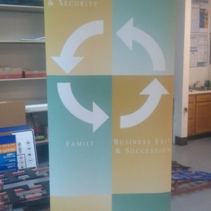 Retractable Banner Stand for Strategic Exit in Denver & Englewood