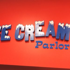Interior Custom Sign Foam Letters for The Original Chubby's in Denver, CO