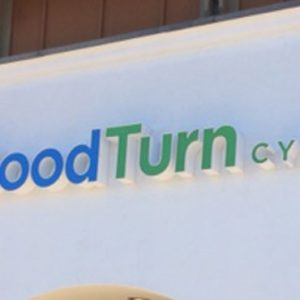 Channel Letters installed on the exterior of Good Turn Cycles in Littleton, CO