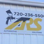 Exterior Aluminum Panel Sign for ARS in Denver, CO