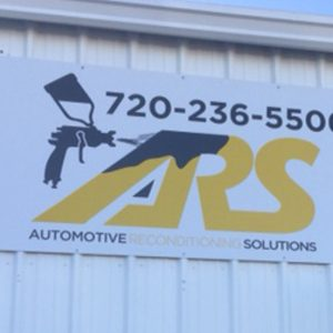 Exterior Aluminum Panel Sign for ARS in Denver, CO