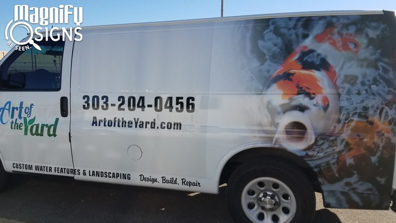 Vinyl Vehicle Wrap