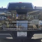 Custom Vinyl Partial Vehicle Wrap on a Hill Commercial truck in Littleton, CO