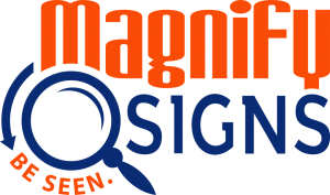magnify-sign