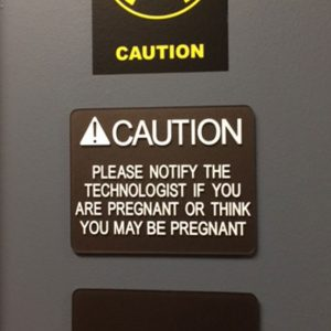 Custom ADA Signs on the interior of Health Images in Castle Rock, CO
