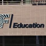 Custom Channel Letters on the exterior of the Education First building in Denver, CO