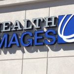 Custom Reverse Lighted Channel Letters on the exterior of Health Images in Castle Rock, CO