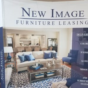 Custom Trade Show Display for New Image Furniture Leasing in Denver, CO