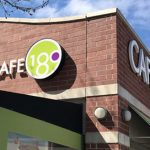 Acrylic and Polycarbonate Exterior Sign for Cafe 180 in Englewood, CO