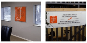 Quality Law Office Signs