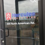 Hercules Industries Window Vinyl
