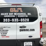 GWM Van Wraps Back View