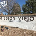 Mission Viejo Monument Signs in Englewood