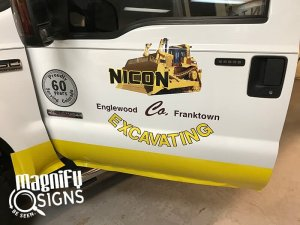 Nicon Truck Wraps