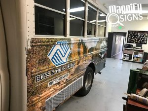 Boys & Girls Clubs Van Wraps in Denver