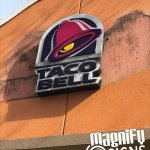 TACO Bell Outdoor Sign in Englewood