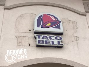 TACO Bell Outdoor Sign