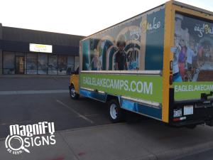 Truck Wrap Eagle Lake Camps