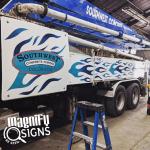 Truck Wrap South West Concrete Pumping
