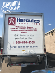 Truck Wraps Hercules Industries