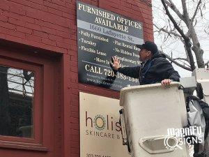 HPE Denver Outdoor Banner
