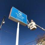 The bridge Church Directional Banner in Denver