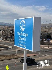 The bridge Church Directional Banner