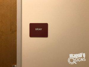 XRAY ADA Signs in Denver