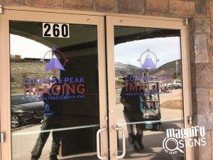 Compass Peak Imaging Office Door Signs