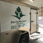 Omni Sprinkler Service Vehicle Wraps