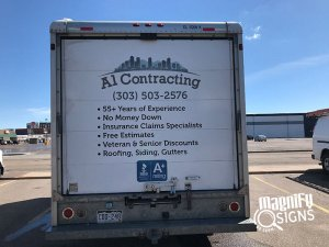 Al Contracting Vehicle Wraps Denver