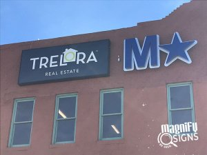 Trelora Building Signs