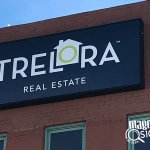 Trelora Building Signs in Denver & Englewood