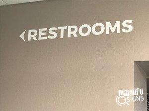 Restroom ADA Signs in Denver and Englewood