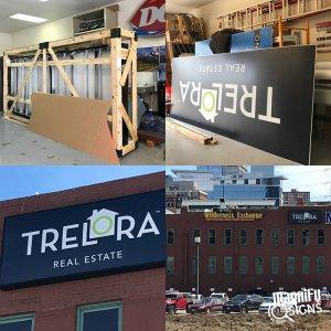 Trelora Building Signs Denver