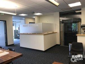Print Station Reception Sign in Denver & Englewood