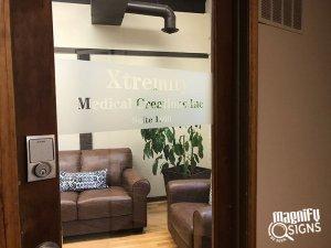 custom office door sign in Denver and Englewood