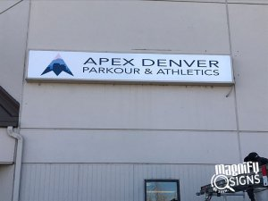 Apex Denver Outdoor Signs in Englewood