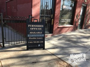 Furnished Offices Directional Signs in Denver